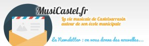 musicastel newsletter